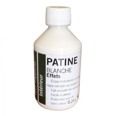 Patine Cire Hydro Blanche