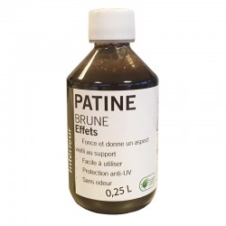 Patine Hydro Brune