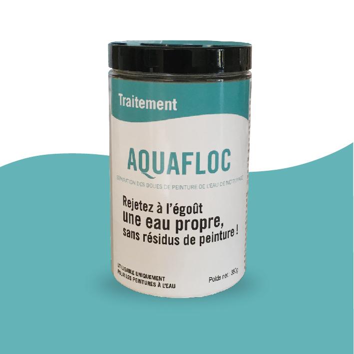Comment rejeter à l'égout une eau sans résidus de peinture ?