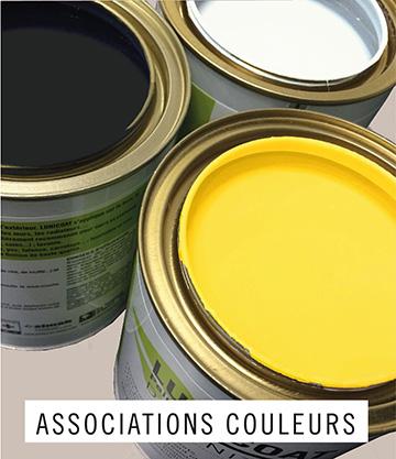 Les associations de couleur et tendances